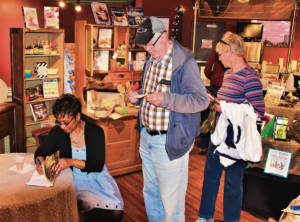 Book Vault book signing