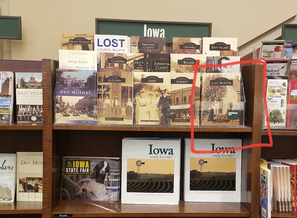 Lost Buxton at Barnes & Noble