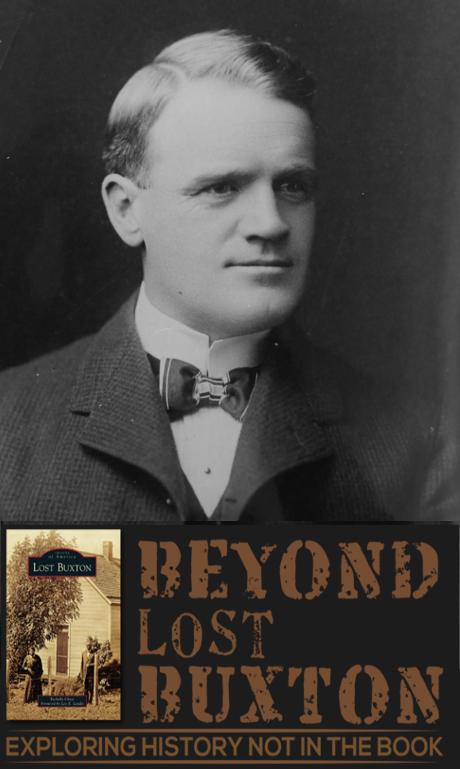 Ben Buxton with Beyond Lost Buxton logo